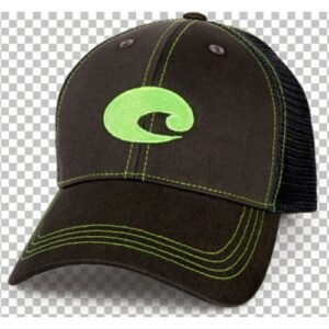 Costa Neon Trucker Cap Graphite/Neon Green