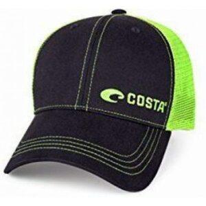 Costa Neon Trucker Logo Cap Neon Green