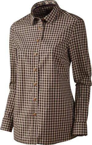 Harkila selja lady check skjorte - s