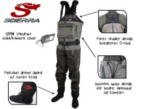 Scierra X-Tech 20000 Chest Wader Stocking Foot