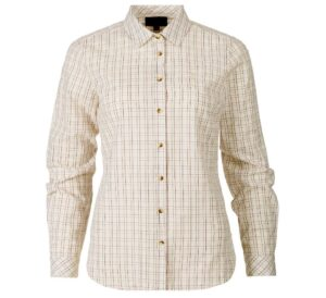 Seeland claire lady skjorte tofy check - 2xl