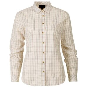 Seeland claire lady skjorte tofy check - xl