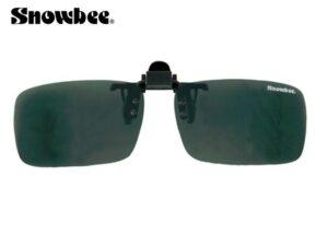 Snowbee Clip-On solbrille (polaroid) Smoke