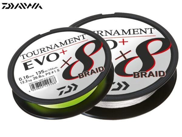 Daiwa Tournament 8 Braid EVO+
