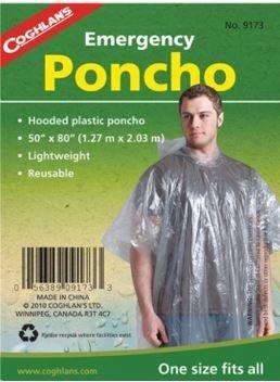Emergency poncho