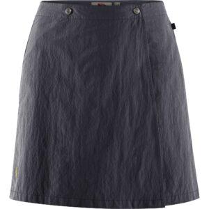 Fjällräven travellers mt skort w dark navy - nederdel og shorts 2 i 1