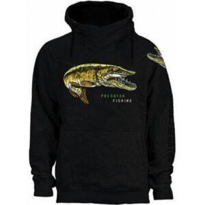 Fladen Greedy Pike Sweatshirt Sort