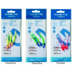 Kinetic Sabiki Glow Baitfish Lightstick #4/0