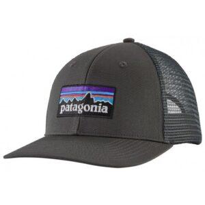 Patagonia P-6 Logo Trucker Cap Forge Grey
