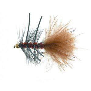 Unique P&T 2 FL20002 B.H. Rubber Leg Woolly Brown Daiichi 1720 #8