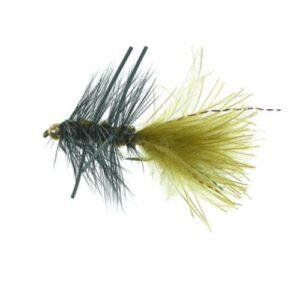 Unique P&T 2 FL20003 B.H. Rubber Leg Woolly Olive Daiichi 1720 #8