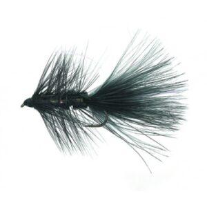 Unique P&T 2 FL20013 Flash a' Bugger Black Daiichi 2220 #8