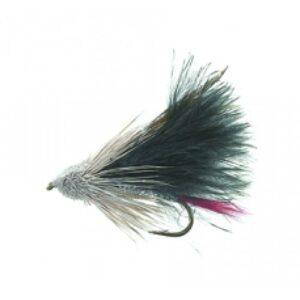 Unique P&T 2 FL20023 Marabou Muddler Black Daiichi 1720 #8