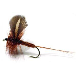 Unique Tørflue FL44013 Rocken Dark Brown Daiichi 2220 #10