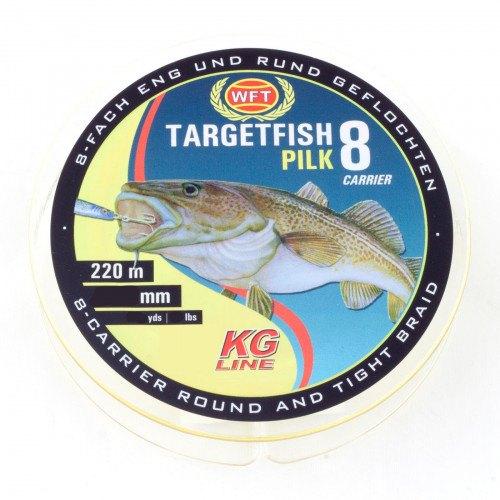 WFT Targetfish 8 Pilk Yellow 220m