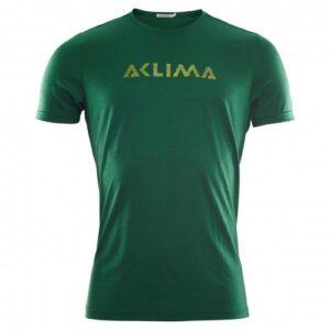 Aclima Lightwool T-Shirt Logo Eden