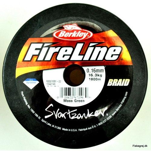 Berkley Fireline Svartzonker Braid Metermål