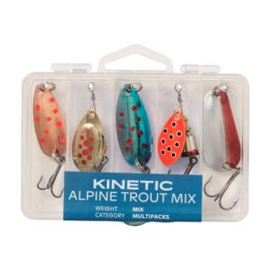 Kinetic Alpine Trout Mix 5pcs - Spinnere