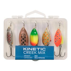 Kinetic Creek Mix 5pcs - Spinnere