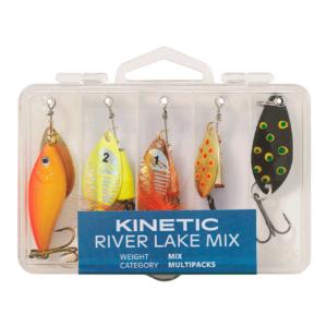 Kinetic River Lake Mix 5pcs - Spinnere