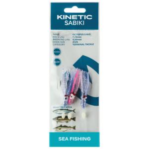 Kinetic Sabiki Octopus S Blue/pink - Torskeforfang
