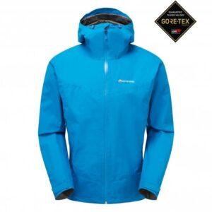 Montane pac plus jakke herre - electric blue