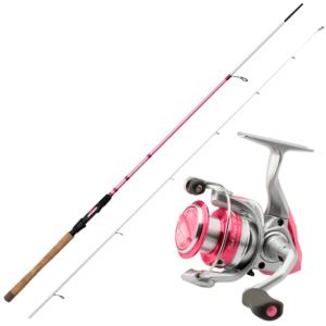 Okuma Pink Pearl Sæt 424-defaultcombination - Spinnesæt
