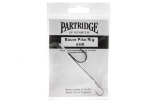Partridge - bauer pike rig #4/0