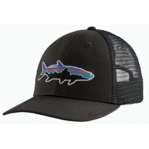 Patagonia Fitz Roy Fish LoPro Trucker Hat Forge Grey