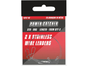 SPRO Power Catcher Stainless Wire Leaders - stålforfang