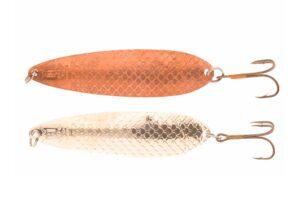 Delfin stikling 10 gram kobber/rød