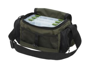 Kinetic® tackle system bag m/3 æsker