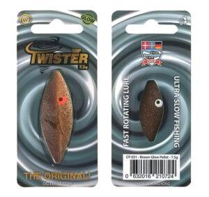 Ogp twister - brown glow pellet - flere størrelser