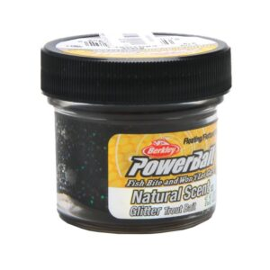 Power bait - trout bait black - 31 gram