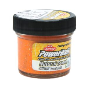 Power bait - trout bait fluorescent orange - 31 gram