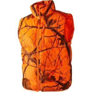 Seeland yukon waistcoat (orange jagtvest) str. l