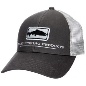 Simms Salmon Icon Trucker Carbon Cap