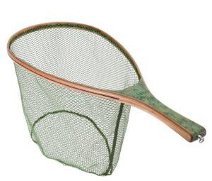Vision green wood rubber net - ørrednet