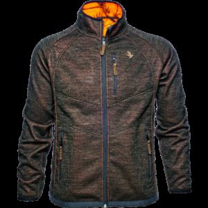 Seeland kraft vendbar fleece jakke str. 3xl